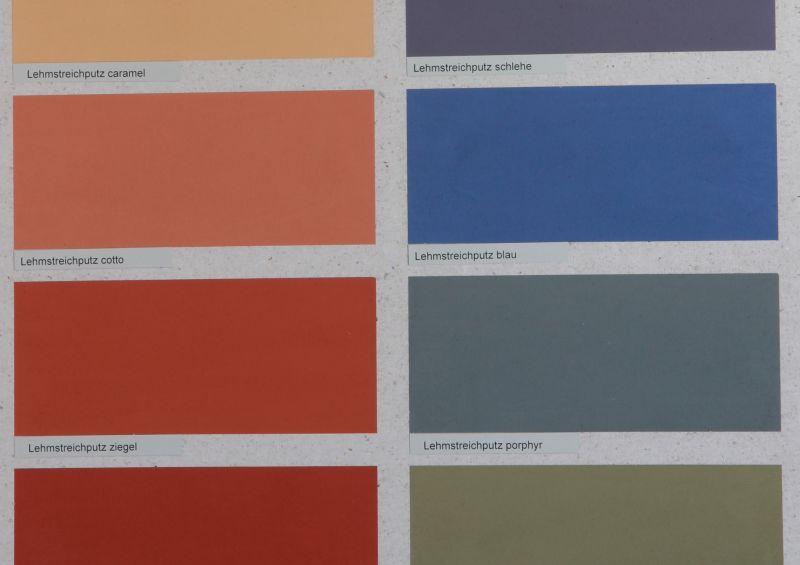 Die Lehmfarbe von Kreidezeit beinhaltet Kasein als Bindemittel